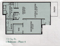 1 Bedroom Phase 4