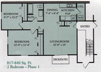 2 Bedroom - Phase 1