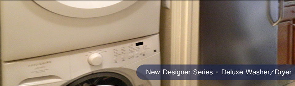 Designer Series - Deluxe Washer/Dryer