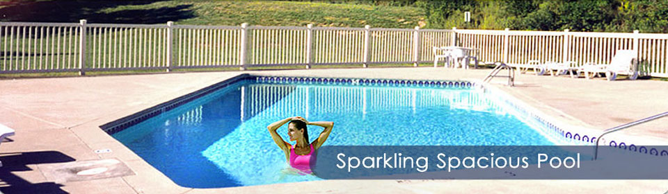 Sparkling Spacious Pool